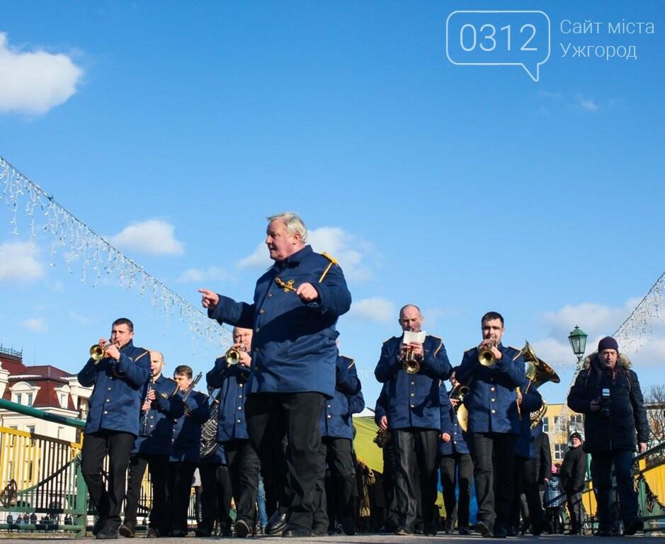 День Соборності в Ужгороді: 100-метровий прапор, урочиста музика та єднання на мості (ФОТОРЕПОРТАЖ, ВІДЕО), фото-18