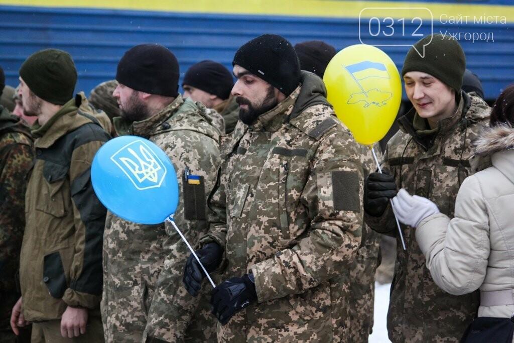 Вони обороняли позиції за 100 метрів від ворога: в Ужгороді зустріли 2-й гірсько-піхотний батальйон 128-ї бригади (ФОТОРЕПОРТАЖ), фото-26