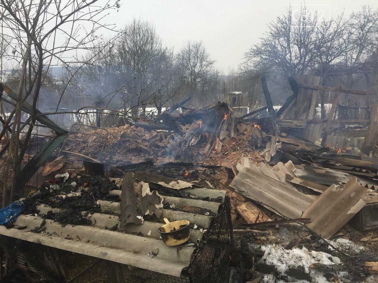 Масштабна пожежа у Доманинцях: вогонь вщент знищив житловий будинок (ФОТО), фото-1