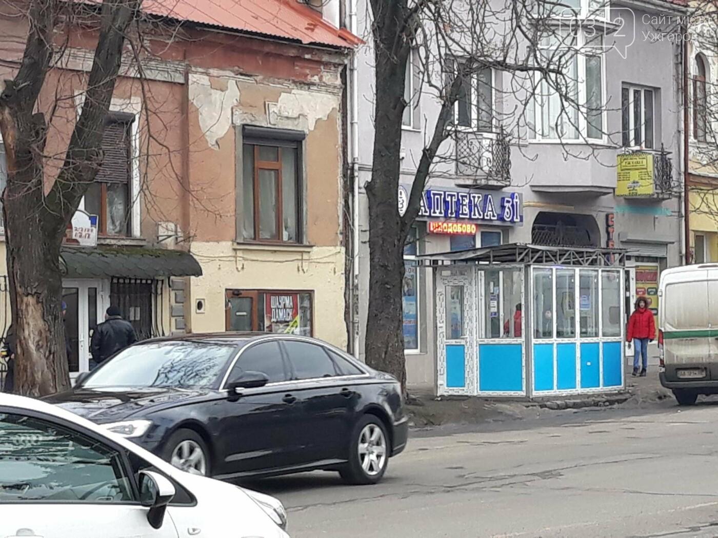 """В Ужгороді на Петефі будують нову зупинку для """"маршруток"""" №№1,2 і 12 в комплексі з торговим павільйоном (ФОТО), фото-2"""