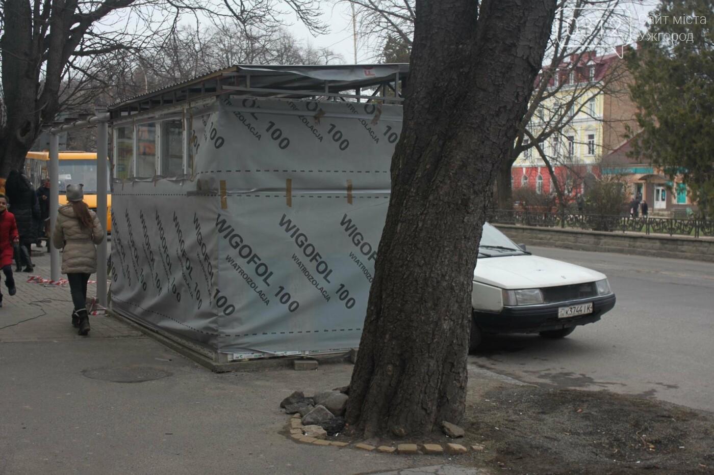 """""""Павільйон"""" як на Петефі? В Ужгороді через місяць встановлять близько 10-ти зупинок на 1,5 мільйони гривень (РЕПОРТАЖ), фото-4"""