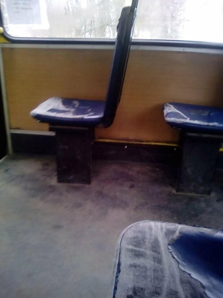 """""""Як для бидла"""": ужгородці оприлюднили шокуючі фотографії з середини салону автобусу №58, фото-1"""