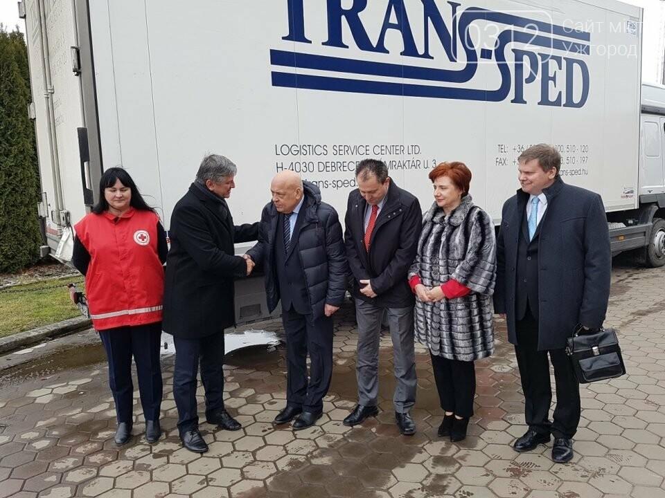 Угорщина передала в закарпатські амбулаторії гуманітарну допомогу на 4 мільйони гривень (ФОТО), фото-1