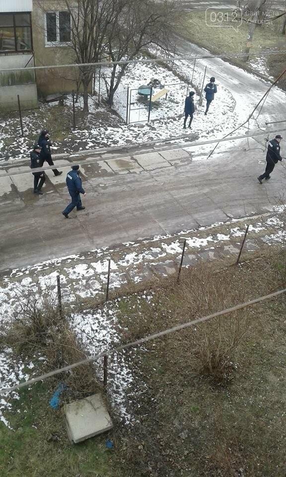 """В Ужгороді проводиться """"спецоперація"""": вулиця Гагаріна перекрита, фото-1"""