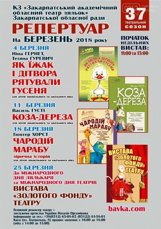ТОП-11 подій на вихідних 10-11 березня в Ужгороді, фото-7