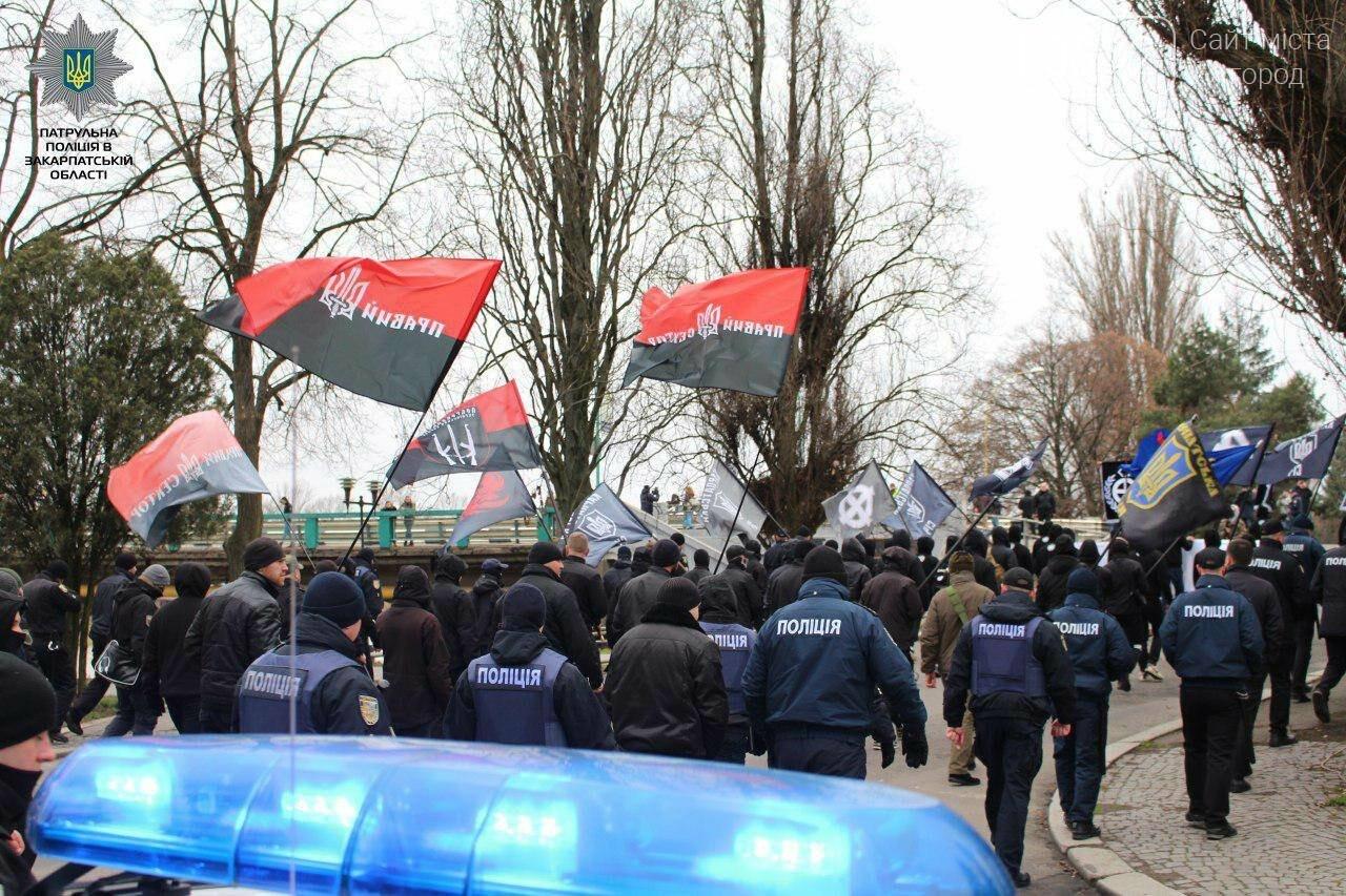 В Ужгороді без надзвичайних подій пройшов Марш Слави Героїв (ФОТО), фото-7