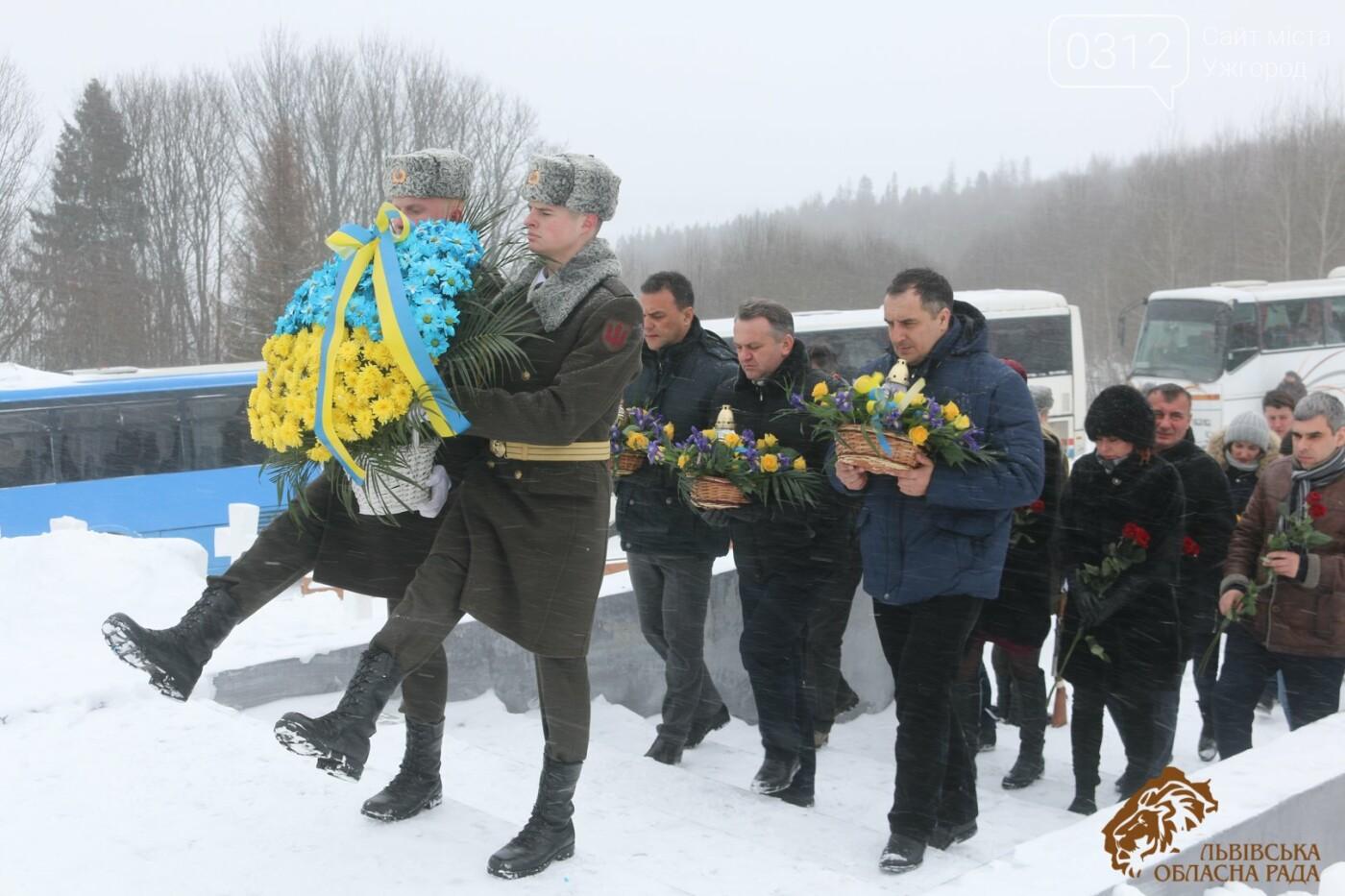 Закарпатці віддали шану полеглим січовикам Карпатської України на Верецькому перевалі (ФОТОРЕПОРТАЖ), фото-6