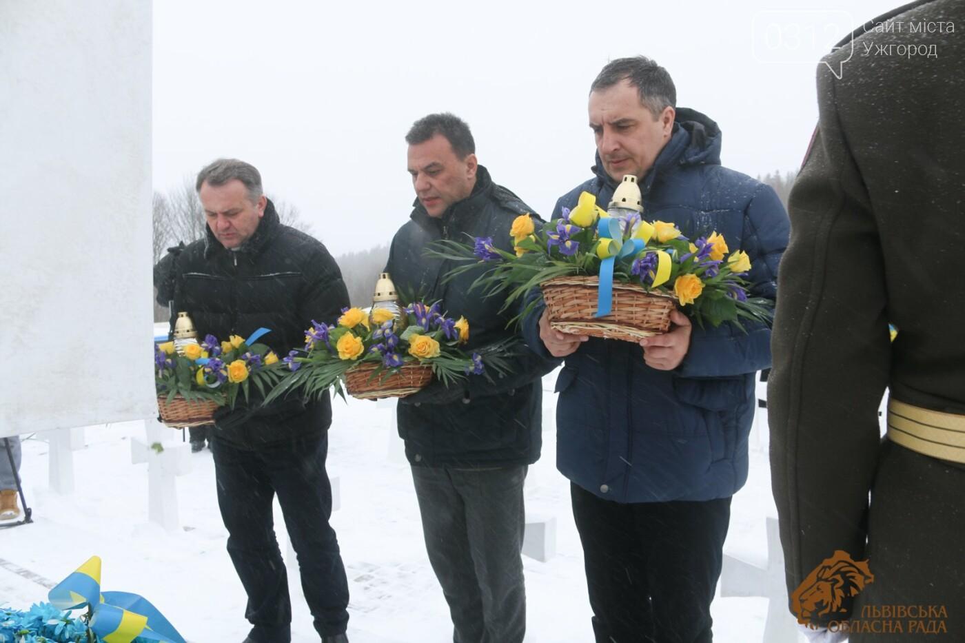 Закарпатці віддали шану полеглим січовикам Карпатської України на Верецькому перевалі (ФОТОРЕПОРТАЖ), фото-3