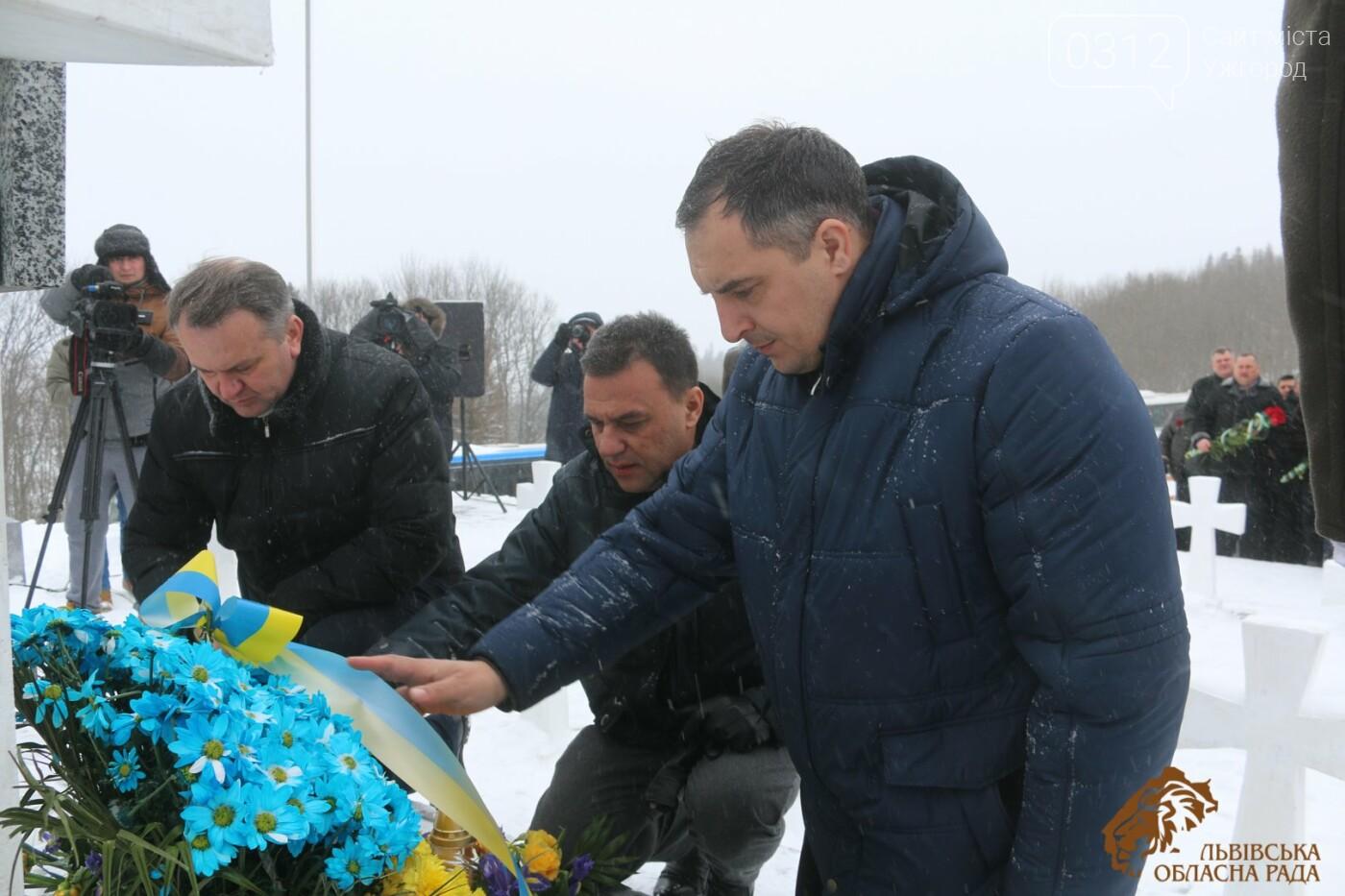 Закарпатці віддали шану полеглим січовикам Карпатської України на Верецькому перевалі (ФОТОРЕПОРТАЖ), фото-5