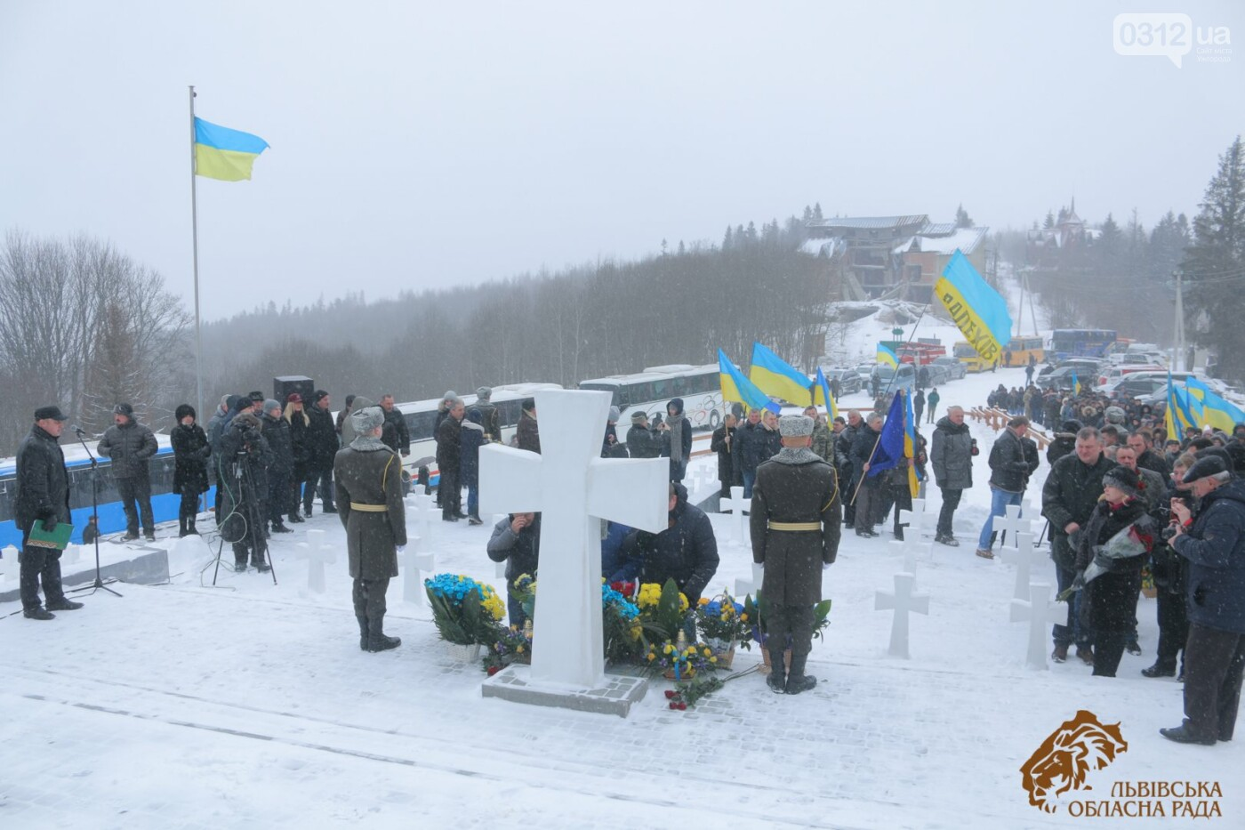 Закарпатці віддали шану полеглим січовикам Карпатської України на Верецькому перевалі (ФОТОРЕПОРТАЖ), фото-12