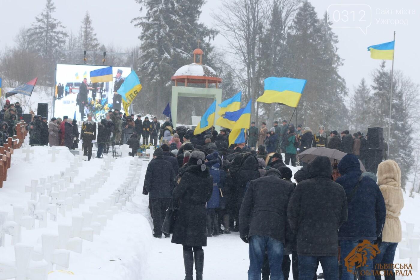 Закарпатці віддали шану полеглим січовикам Карпатської України на Верецькому перевалі (ФОТОРЕПОРТАЖ), фото-13