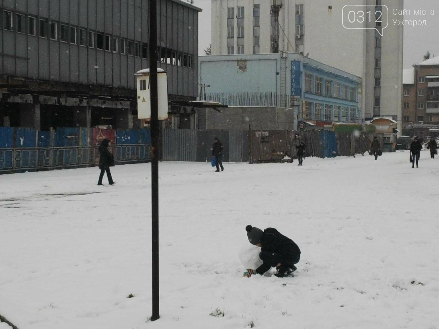 Ужгород - наодинці зі снігом: тротуари не розчищені та непідсипані, у двори не ступала нога комунальника (ФОТОРЕПОРТАЖ), фото-10