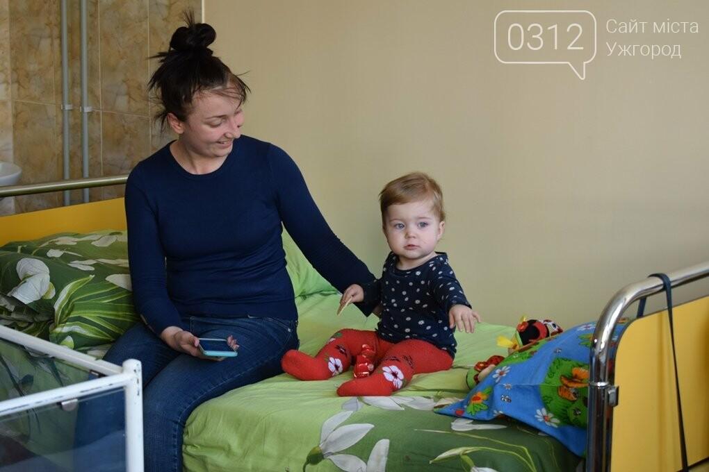 В ужгородській дитячій лікарні завершили капремонт відділення молодшого дитинства за 1,2 мільйони гривень (ФОТОРЕПОРТАЖ), фото-4