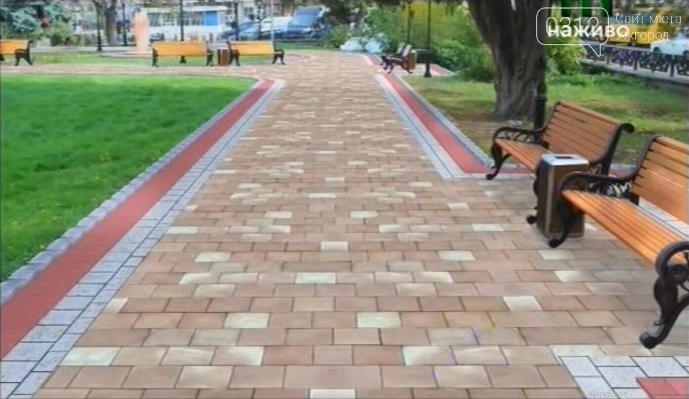 Велопарковка, фонтан і нова плитка: як виглядатиме площа Петефі в Ужгороді після капремонту (ОСТАТОЧНИЙ ПРОЕКТ), фото-3