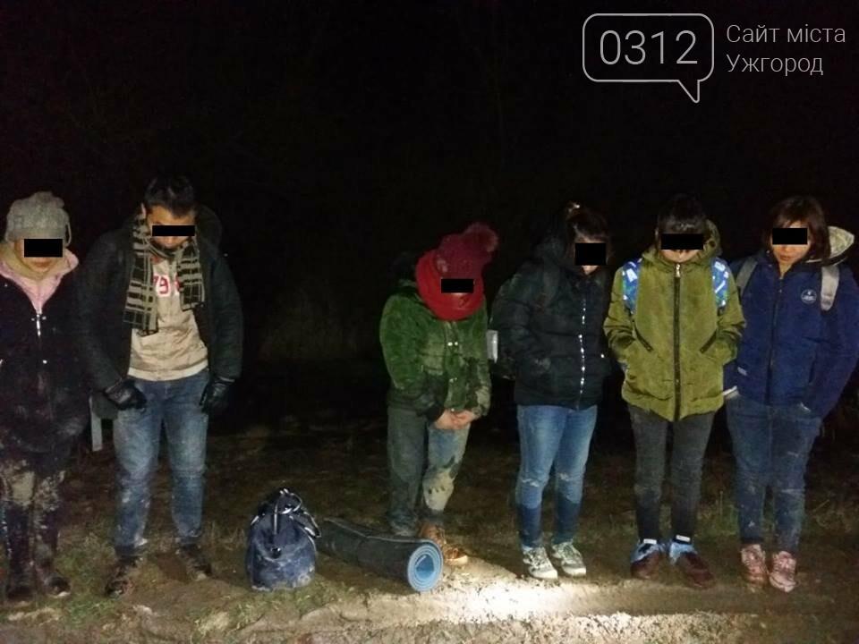 На Закарпатті було затримано мігрантів, які незаконно перетинали українсько-угорський кордон (ФОТО), фото-2