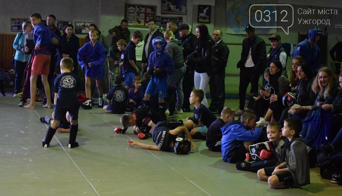 На відкритому чемпіонаті Ужгорода з бойового самбо переможцям вручили медалі та грошові премії (ФОТО), фото-5
