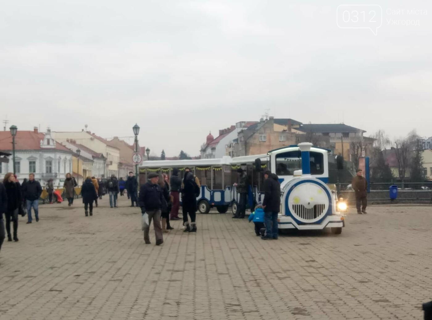 Стало відомо, за яким маршрутом курсує паровозик в Ужгороді (ЦІНИ), фото-1