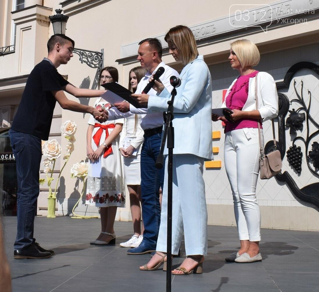 В Ужгороді переможці всеукраїнських олімпіад та МАНу отримали премії (ФОТО), фото-3
