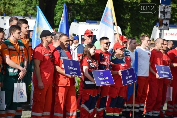 Закарпаття вперше приймає Всеукраїнські змагання бригад екстреної медичної допомоги (ФОТОРЕПОРТАЖ), фото-2