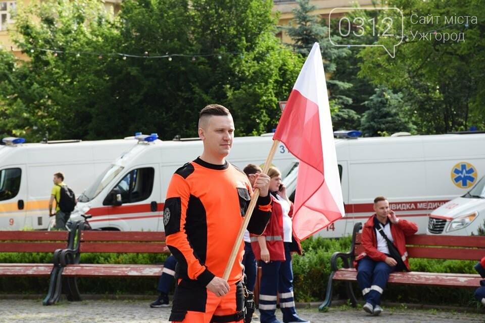 Закарпаття вперше приймає Всеукраїнські змагання бригад екстреної медичної допомоги (ФОТОРЕПОРТАЖ), фото-9