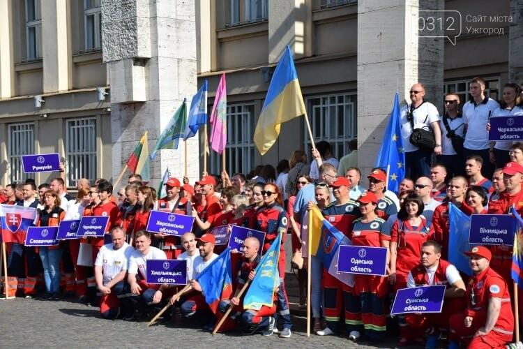 Закарпаття вперше приймає Всеукраїнські змагання бригад екстреної медичної допомоги (ФОТОРЕПОРТАЖ), фото-17