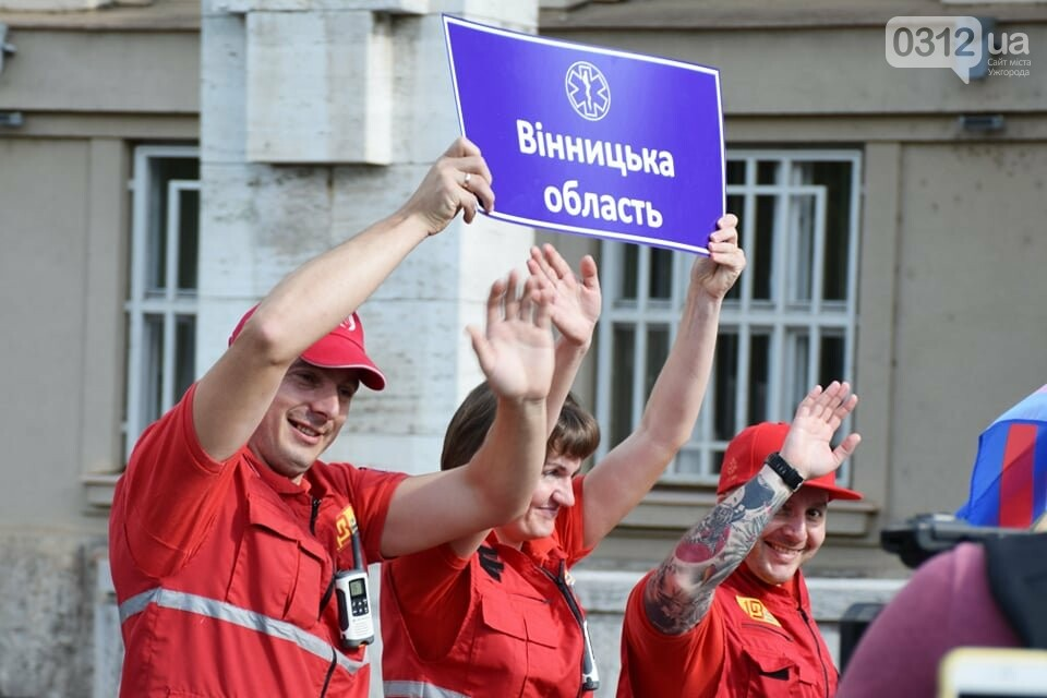 Закарпаття вперше приймає Всеукраїнські змагання бригад екстреної медичної допомоги (ФОТОРЕПОРТАЖ), фото-14