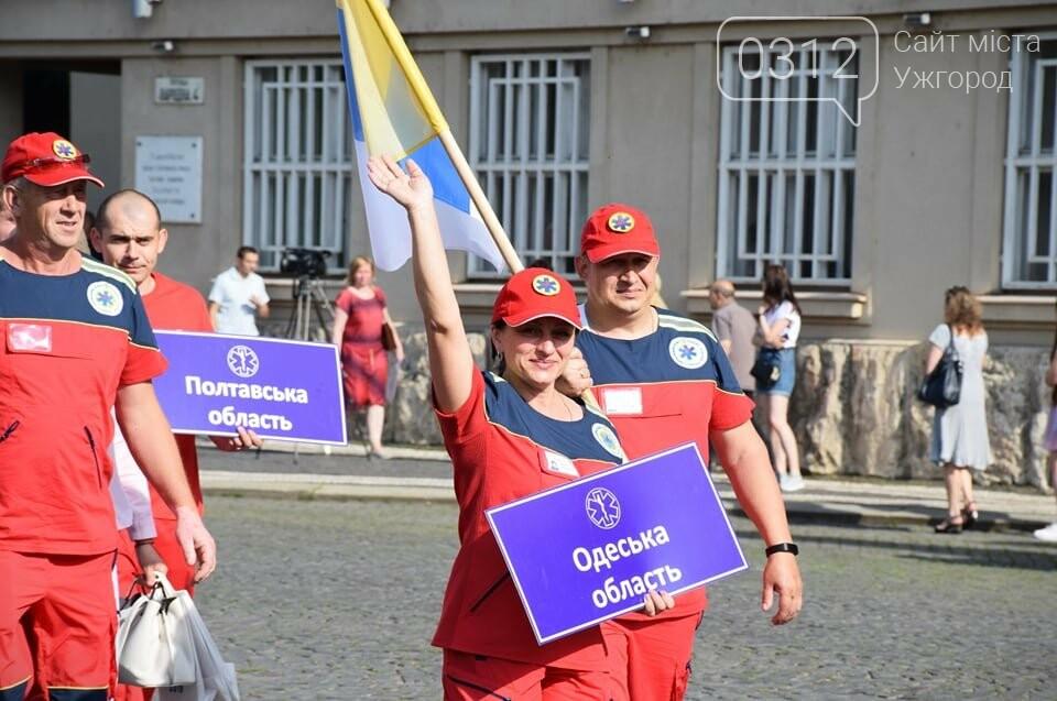 Закарпаття вперше приймає Всеукраїнські змагання бригад екстреної медичної допомоги (ФОТОРЕПОРТАЖ), фото-10