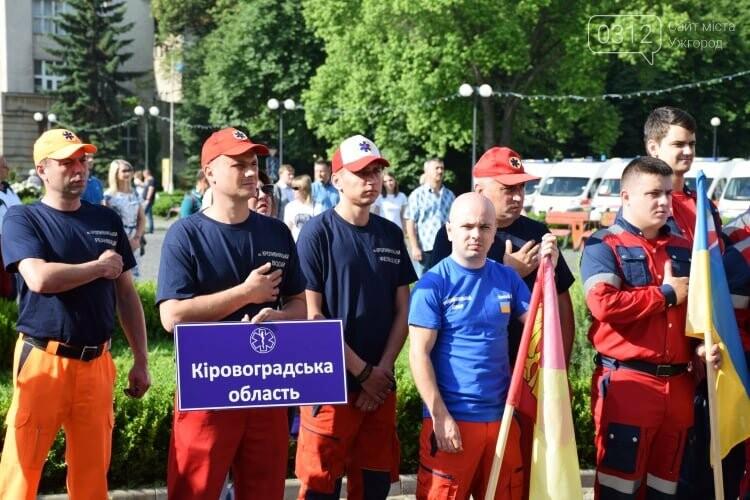 Закарпаття вперше приймає Всеукраїнські змагання бригад екстреної медичної допомоги (ФОТОРЕПОРТАЖ), фото-12