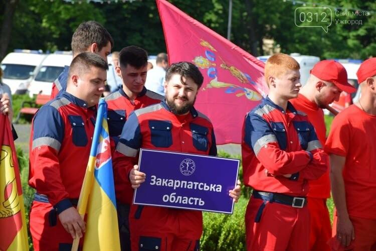 Закарпаття вперше приймає Всеукраїнські змагання бригад екстреної медичної допомоги (ФОТОРЕПОРТАЖ), фото-3