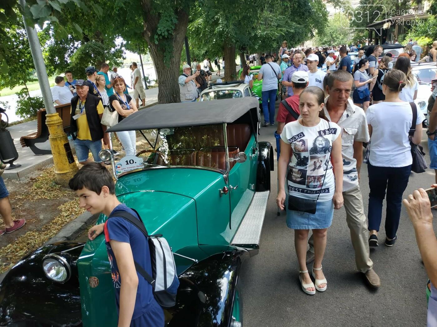 «Земплінське ралі автоветеранів» зібрало в Ужгороді близько 100 ретро автомобілів (ФОТО), фото-17