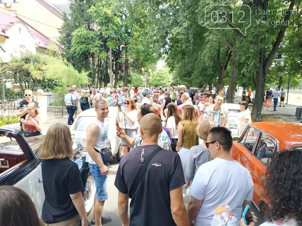 «Земплінське ралі автоветеранів» зібрало в Ужгороді близько 100 ретро автомобілів (ФОТО), фото-21