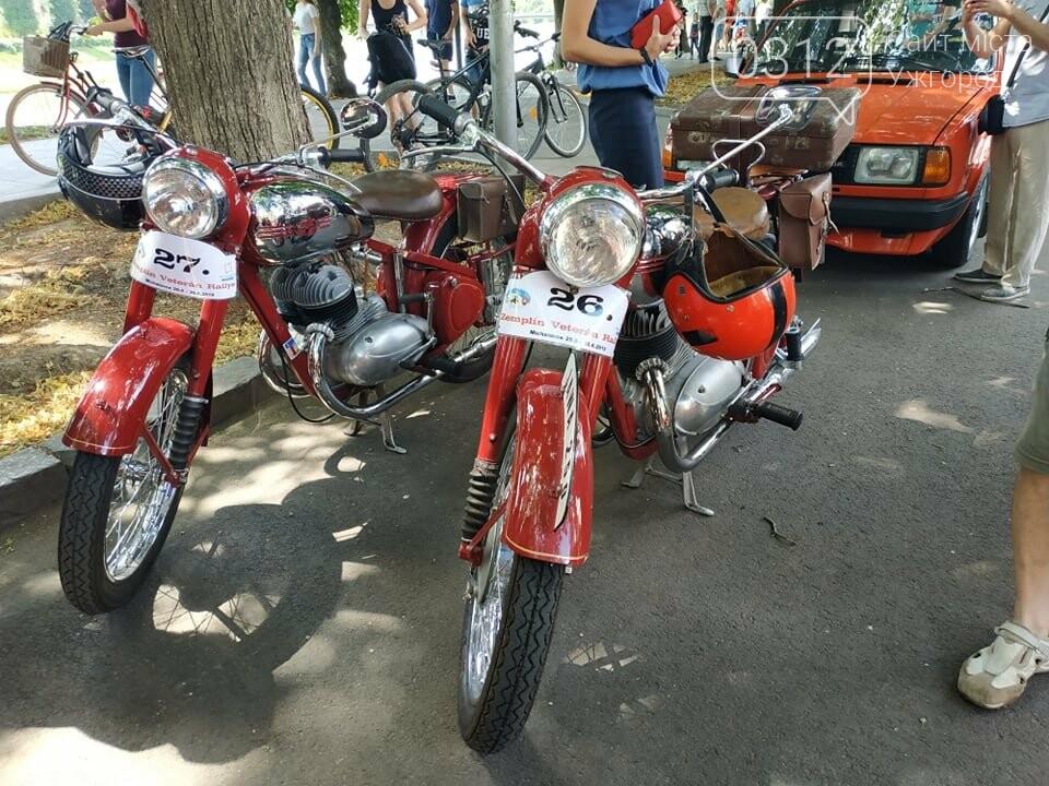 «Земплінське ралі автоветеранів» зібрало в Ужгороді близько 100 ретро автомобілів (ФОТО), фото-23