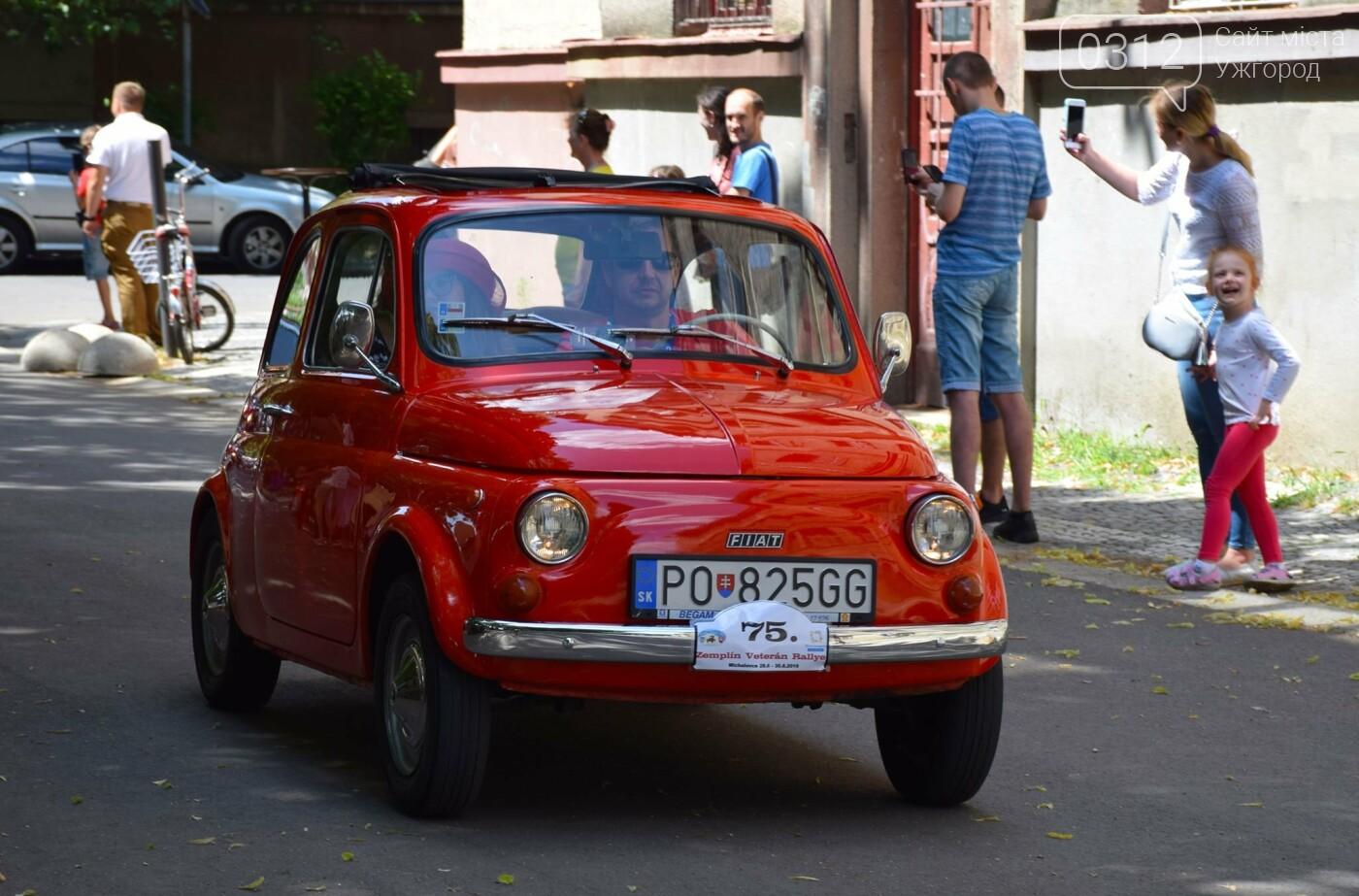 «Земплінське ралі автоветеранів» зібрало в Ужгороді близько 100 ретро автомобілів (ФОТО), фото-3