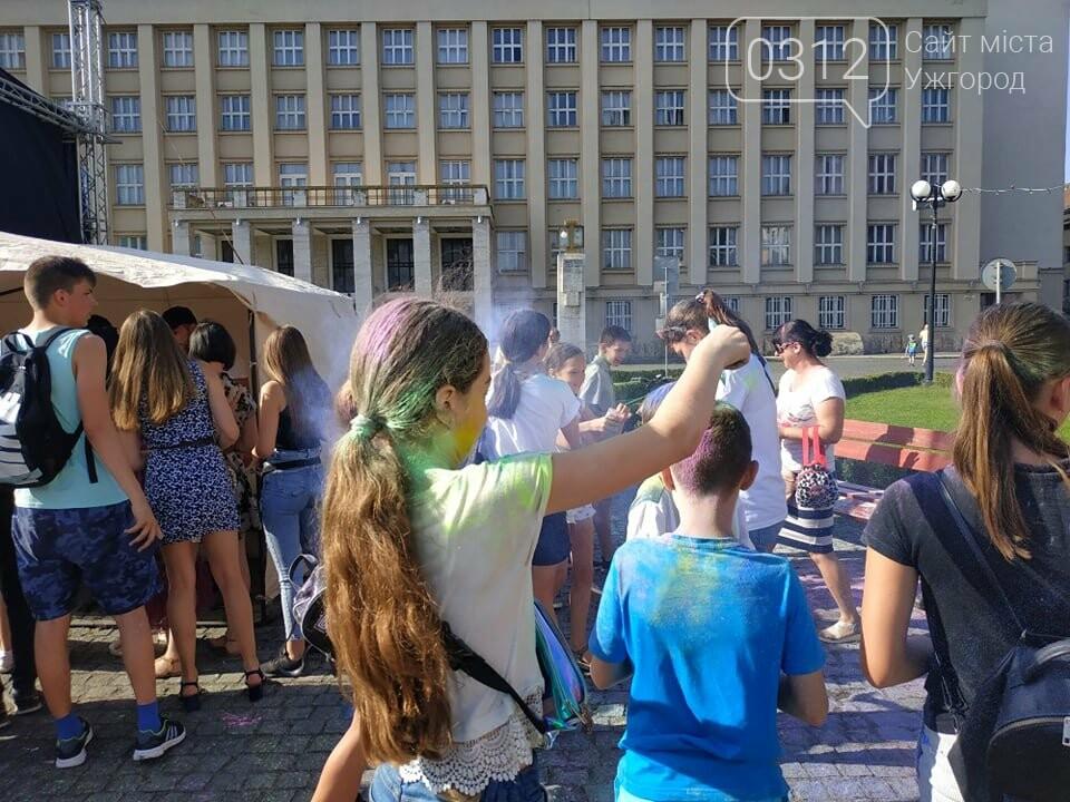 День молоді в Ужгороді у настрої всіх кольорів (ФОТОРЕПОРТАЖ), фото-6