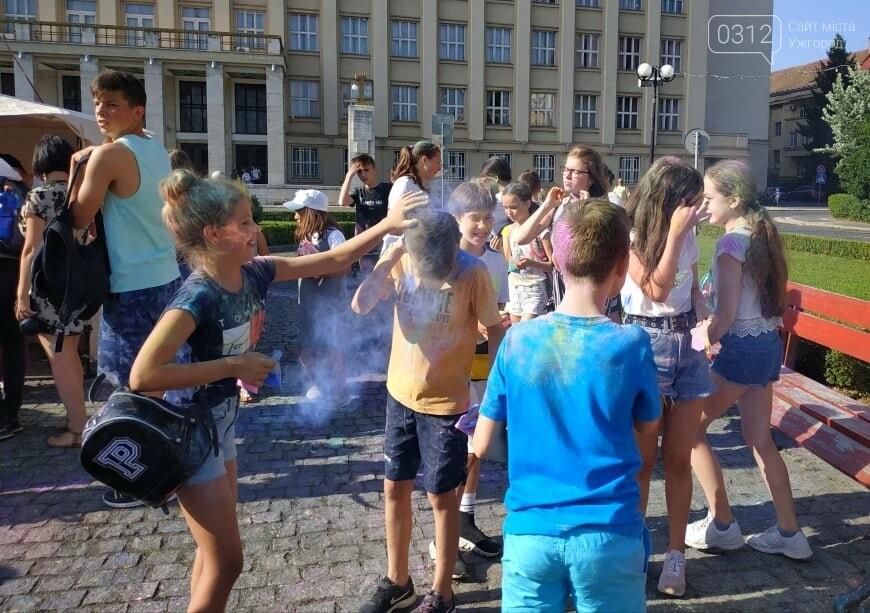 День молоді в Ужгороді у настрої всіх кольорів (ФОТОРЕПОРТАЖ), фото-7