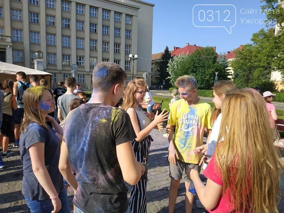 День молоді в Ужгороді у настрої всіх кольорів (ФОТОРЕПОРТАЖ), фото-4