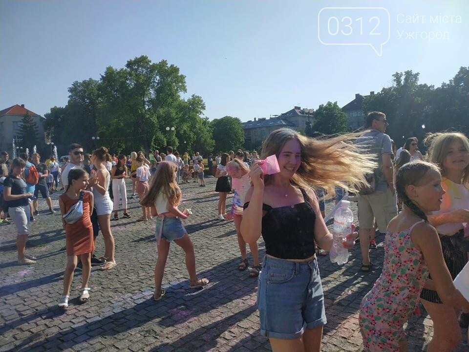 День молоді в Ужгороді у настрої всіх кольорів (ФОТОРЕПОРТАЖ), фото-8