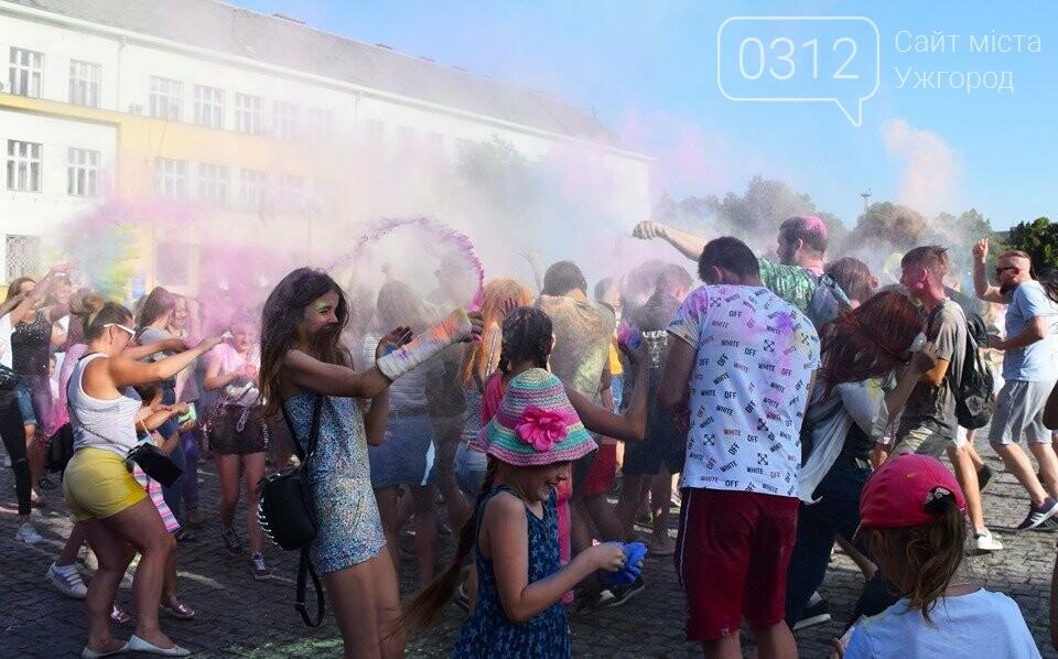 День молоді в Ужгороді у настрої всіх кольорів (ФОТОРЕПОРТАЖ), фото-24