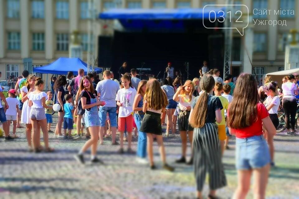 День молоді в Ужгороді у настрої всіх кольорів (ФОТОРЕПОРТАЖ), фото-18