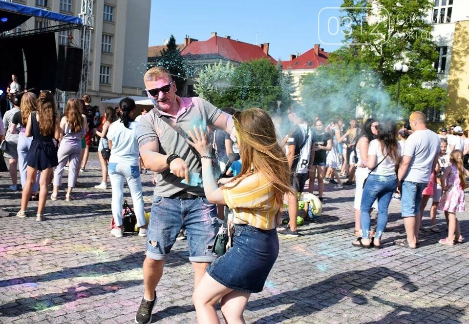 День молоді в Ужгороді у настрої всіх кольорів (ФОТОРЕПОРТАЖ), фото-16