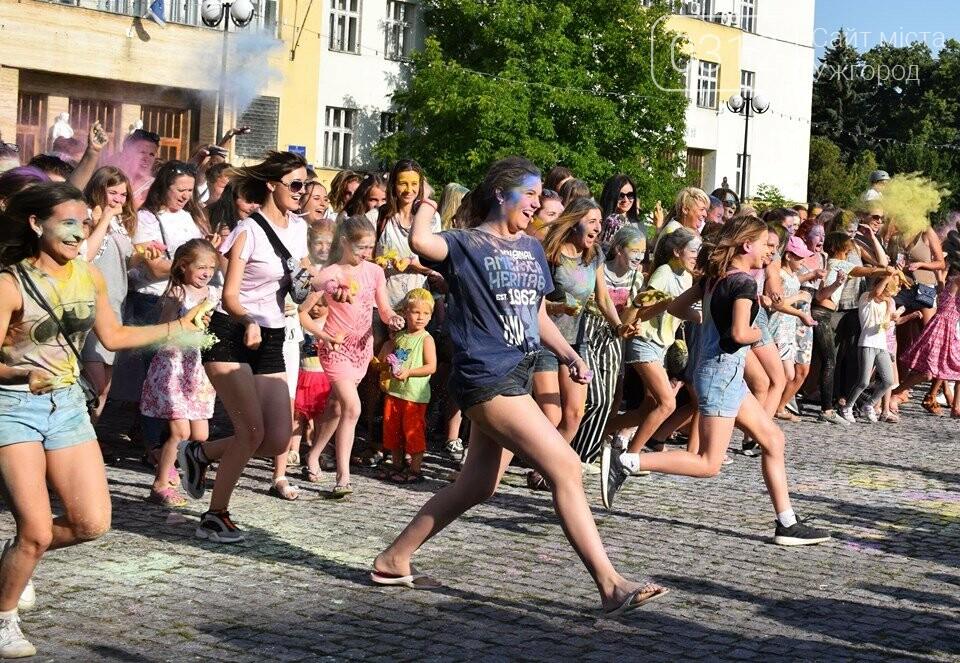 День молоді в Ужгороді у настрої всіх кольорів (ФОТОРЕПОРТАЖ), фото-17