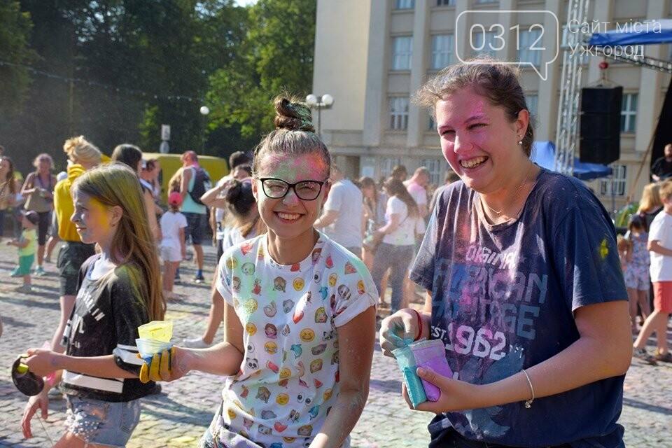 День молоді в Ужгороді у настрої всіх кольорів (ФОТОРЕПОРТАЖ), фото-14