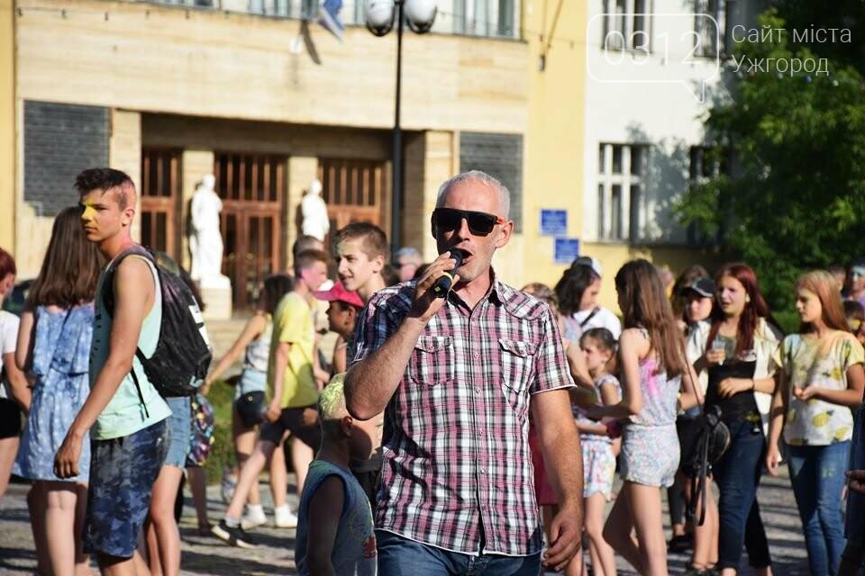 День молоді в Ужгороді у настрої всіх кольорів (ФОТОРЕПОРТАЖ), фото-21