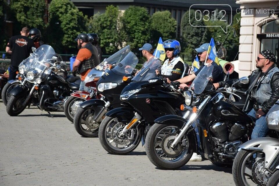 З Ужгорода втретє стартував Мотопробіг єдності (ФОТОРЕПОРТАЖ), фото-6