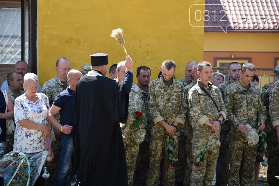 Меморіал загиблим воїнам-захисникам України відкрили в Ужгороді (ФОТОРЕПОРТАЖ), фото-6