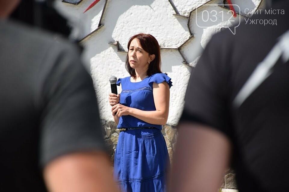 Меморіал загиблим воїнам-захисникам України відкрили в Ужгороді (ФОТОРЕПОРТАЖ), фото-11