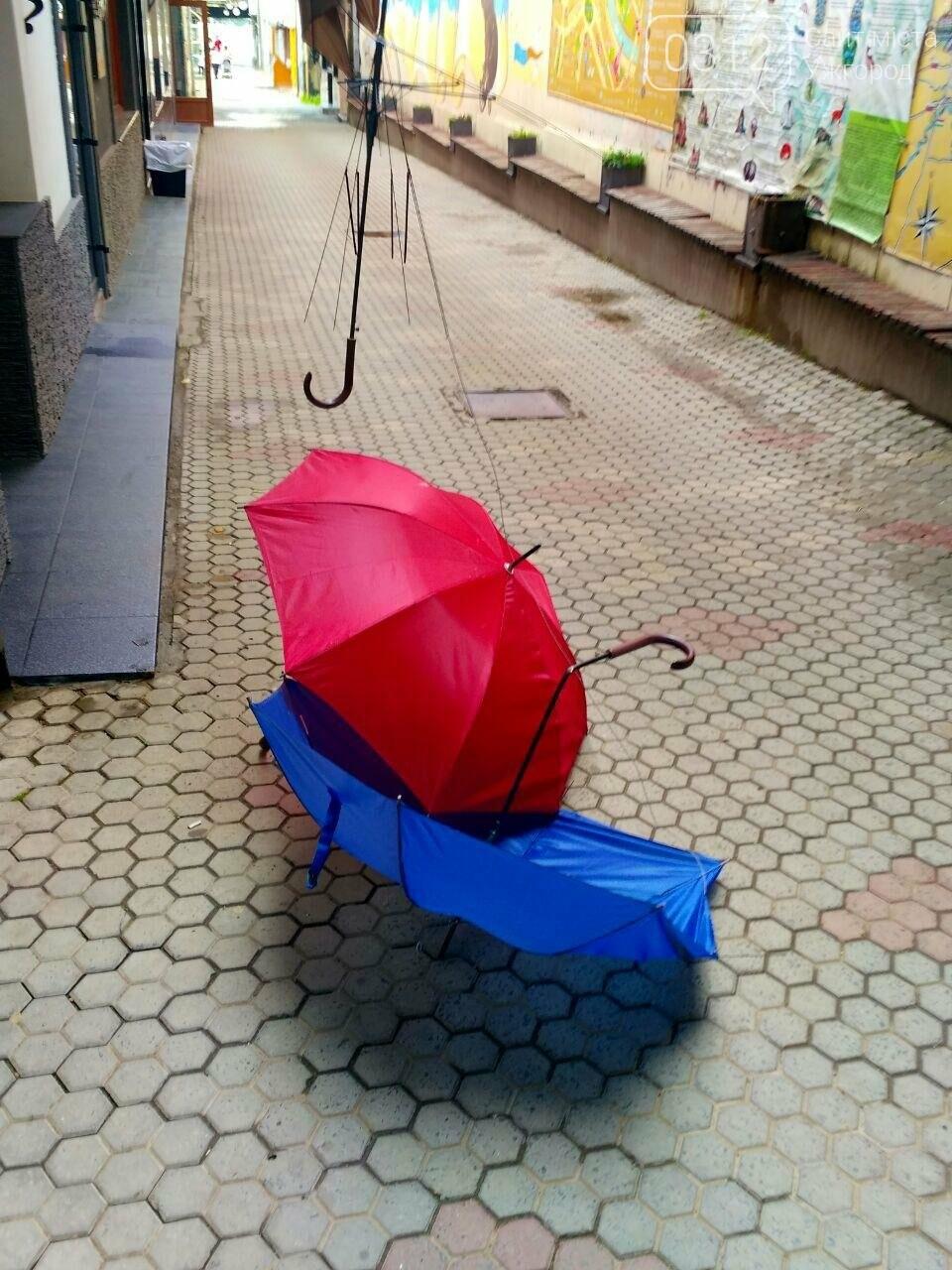 В Ужгороді невідомі вандали познущалися над алеєю парасоль у пасажі (ФОТО), фото-3