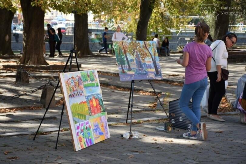 Панораму мальовничого Ужгорода створювали юні художники обласного центру (ФОТОРЕПОРТАЖ) , фото-13