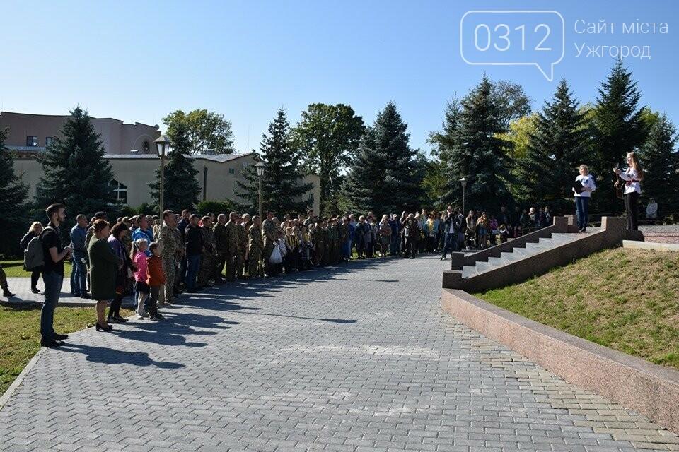 В Ужгороді над могилами загиблих захисників України встановили Державні прапори (ФОТОРЕПОРТАЖ), фото-2