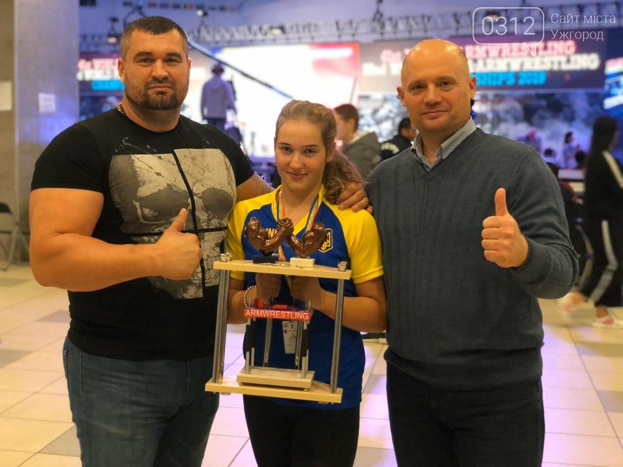 14-річна закарпатка стала Чемпіонкою світу з армрестлінгу (ФОТО) , фото-3